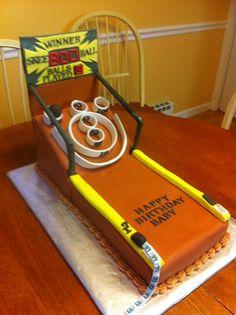 Skee ball cake...awesome!