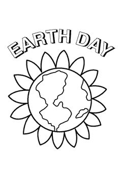 earth flower coloring pages - photo#5