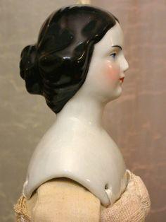 "18"" Rare Conta & Boehme Opera Singer ""Jenny Lind"" Portrait China Lady Doll! Victorian Dolls, Vintage Dolls, Ann Doll, China Dolls, Best Natural Skin Care, Opera Singers, Old Dolls, Wooden Dolls, Doll Head"