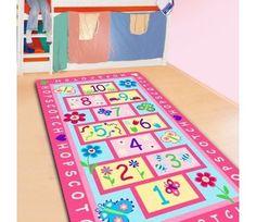 #Rug #Kids #Play #Room #Girls #Babies #Home #Decor #Hopscotch #Carpet #Children #Designer