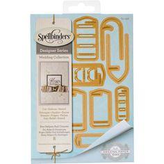 Spellbinders Shapeabilities Dies - Bow Helpers & Closures
