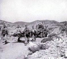 "Brandenburgers in North Africa - these are Kommandos of Tropical Company ""von Koenen""."