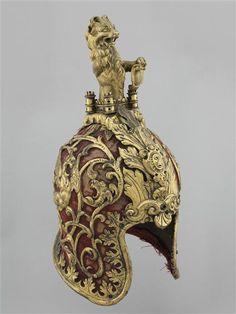 barbute-celata, Venetian, 1470's. Decoation c 1680. Paris, Musée de l'Armée