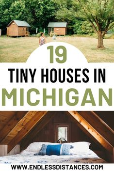 19 tiny houses in Michigan you can stay in on your next getaway. Tiny House | Tiny Houses | Michigan | USA | United States of America | Travel Destinations | Cabin | Cottage | Up North | Vacation | Bucket List | Budget | Off the Beaten Path | Local Guide | Wanderlust #travel #honeymoon #vacation #backpacking #budgettravel #offthebeatenpath #bucketlist #wanderlust #Michigan #USA #America #UnitedStates #exploreMichigan #visitMichigan #seeMichigan #discoverMichigan #TravelMichigan #tinyhouse Michigan Usa, Michigan Travel, United States Travel, Travel Guides, Travel Tips, House In The Woods, Wanderlust Travel, Tiny Houses, Best Hotels
