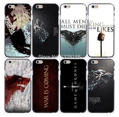 Game of Thrones plastic hard phone cases for iphone 6, 6s, plus  http://westerosmarket.com/product/hot-retail-game-of-throne-plastic-hard-phone-cases-for-iphone-6-case-6s-plus-freeshipping/  Price: $ 9.99  #gameofthrones #westerosmarket #lannister #baratheon #targaryen #stark #winteriscoming #jonsnow #daenerys #asoiaf #valarmorghulis #tshirt #iphonecase