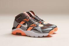 #Nike Lunar 180 Trainer SC Cool Grey White Atomic Orange #sneakers... Bo knows