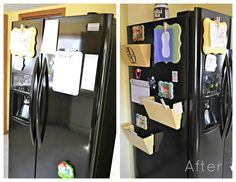 The Cards We Drew: Fridge Reorganization. This should on the side of my fridge