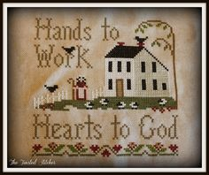 Hands to Work by Little House Needleworks | Flickr - Photo Sharing!