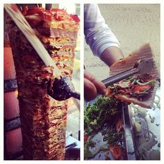 InstabulEatsTour: Spice Mkt: the BEST döner: lamb layered w onion/tomato/chile on perfect juice absorbent bread