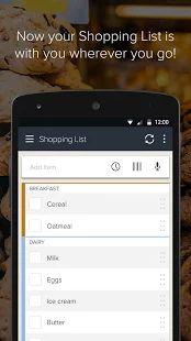 Out of Milk Lista de la Compra: miniatura de captura de pantalla
