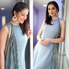 Lakshmi Rai Outfit by Montage by ritika.Jewellery by Mira by Radhika JainStyled by Shreya Juneja for julie2 Promotions. 27 November 2017