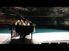 Clair de Lune for 3 pianists- The 5 Browns - YouTube