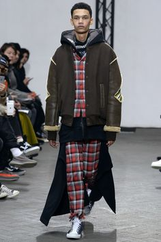 Facetasm Fall 2017 Menswear Fashion Show