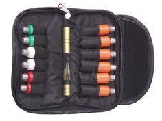 AERIAL PENCIL FLARE - Thumb-Launcher + 6 Flares + 6 Noises + Pouch, Any combination of flash bang BearBangers, Whistles  Flares, at ± $120.00.