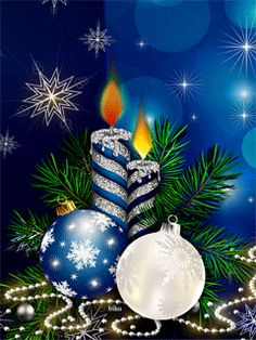 merry christmas # 2020 the meli melos de noel de mamietitine - Page 13 Animated Christmas Tree, Xmas Gif, Merry Christmas Gif, Christmas Scenes, Christmas Candles, Vintage Christmas Cards, Christmas Images, Christmas Art, Xmas Tree