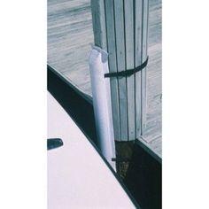 Tayor Perimeter Removable Post Bumper, White