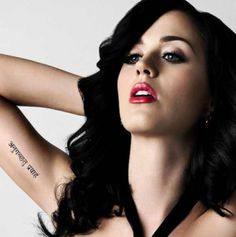 Katy Perry LOVE her music