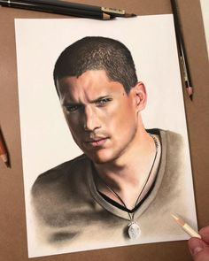 Not ready yet • • •  #art #artdiscover #dailyart #artsy #arts_promote #instaart #originalart #artistic_support #art_dailydose #realismart #artwork #artsanity #workinprogress #artistoninstagram #artspotlight #artfollowers #traditionalart #michaelscofield #scofield #prisonbreak #prison #tvshow #wentworthmiller #coloredpencil #coloredpencils #carandache #fabercastellpolychromos #prisonbreak6 #prisonbreakedit #iuliancart Faber Castell Polychromos, Michael Scofield, Caran D'ache, Wentworth Miller, Prison Break, Realism Art, Traditional Art, Insta Art, Colored Pencils
