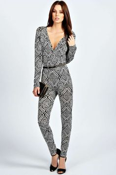 338bc91537 Make a statement   shop boohoo s range of sexy jumpsuits for women in  colors