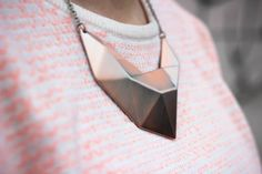 street look french blogger Artlex / fashion blog / metal necklace
