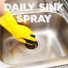 Daily sink spray recipe