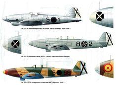 Heinkel 112 Spanish Civil War Colours