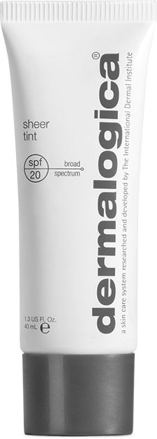 A lightly-tinted moisturising product that is suitable for wearing all day. The product produces a sheer wash of colour and the natural, light-diffusing Iron Oxides give a translucent colour that produces radiant looking skin. #Dermalogica #SkinCare #SheerTint #Moisturisers #Tinted #Tones #Range