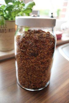 Fräulein Ordnung: Müsli Granola á la Jamie Oliver