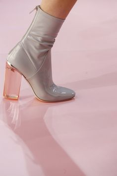 Dior Ready To Wear Fall Winter 2015 Paris #shoes #heels #dior