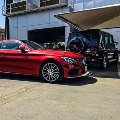 DRIVING BENZES — Mercedes-Benz C 300 coupé & G 63 AMG (Instagram...