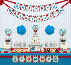 O Thomas e seus amigos é um desenho super educativo e cativante. Fazer uma festa infantil com este tema pode ser uma viagem super legal! Aproveite!