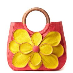 Mar Y Sol Coral Sunflower Guadeloupe by Naturalluxe. (via Ethical Ocean) : Mar Y Sol Coral Sunflower Guadeloupe by Naturalluxe. (via Ethical Ocean) My Bags, Purses And Bags, Sunflowers And Daisies, Sailing Outfit, Summer Bags, Mellow Yellow, Fashion Bags, Style Fashion, My Style