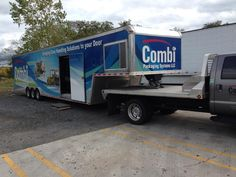 Combi Demo Truck in NY for Accutech Packaging demonstrations. Thanks to the Accutech Team and all of today's customers for the opportunity to be there. Combi truck 100814.jpg