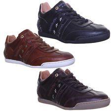 Pantofola D ORO Ascoli Piceno Mens Leather Black Trainers Size EU 40 46 | eBay