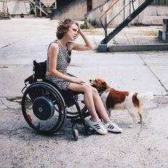 #Model #Wheelchair Instagram @eliannespeksnijder Make your life a story worth telling Netherlands YouTube: eliannespeksnijder