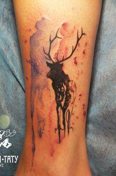 Deer Tattoo - 45 Inspiring Deer Tattoo Designs  <3 <3