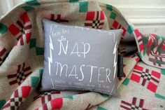 Hey, I found this really awesome Etsy listing at https://www.etsy.com/listing/176920561/nap-master-pillow