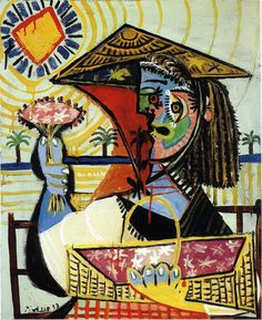 "topcat77: "" Picasso Le flouriste - 1937 """