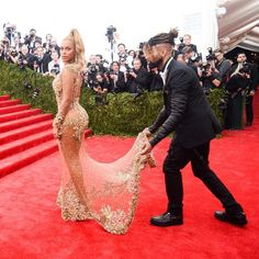 Beyonce's stylist Ty Hunter - red carpet