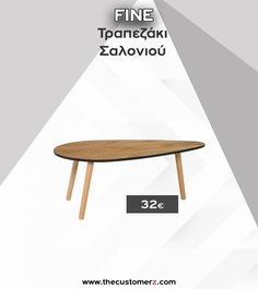 ❤️Ένα ξεχωριστό τραπέζι σαλονιού, με ευκολία στη μετακίνηση και εξαιρετική τιμή.❤️  #διακοσμηση #διακοσμηση #τραπεζι #τραπεζακι #σαλονιου #σαλονι #home #decor Table, Furniture, Home Decor, Interior Design, Home Interior Design, Desk, Tabletop, Arredamento, Desks