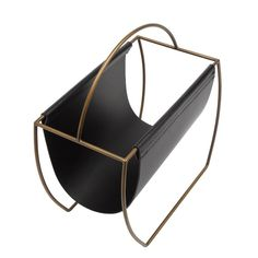 Mercury Row Hardage Magazine Rack & Reviews | Wayfair Magazine Holders, Magazine Rack, Tech Accessories, Decorative Accessories, Magazine Files, Guest Room Office, Luxury Homes Interior, Affordable Furniture, Classic House