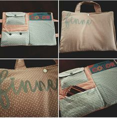 Knutseltas Louis Vuitton Damier, Purses And Bags, Burlap, Reusable Tote Bags, Sewing, Pattern, Baby, Color, Dressmaking