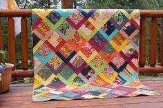 Image result for modern patchwork quilts