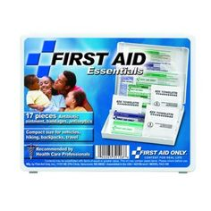 #firstaidresponder, #FirstAidKits*FAO-106 First Aid Only Travel First Aid Kit, 17 pc - Mini*This kit prepares you for those small everyday emergencies.*Shop Now!