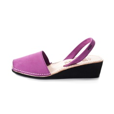 Fab.com | Women's Wedge Sandal Berry