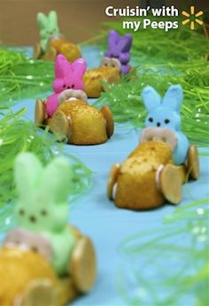Beep, beep! Here come the Peeps! Cruise down to your local Walmart to pick up your Peeps and everything else you need to make fun DIY Easter treats, decorations, crafts and more.