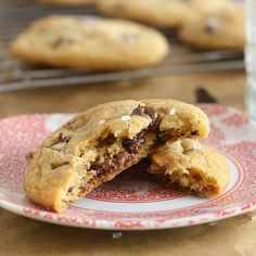 Tracey's Culinary Adventures: Nutella-Stuffed Brown Butter Chocolate Chip Cookies