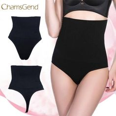 4ffb1374d2c87 New Style Lady High Waist Trainer Tummy Control Thong Seamless Underwear  Shaper Shapewear Wolovey