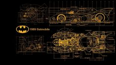 Batmobile 1989 Blueprints by kharec84 on deviantART