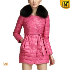 www.cwmalls.com - Women's Slim Sheepskin Leather Down Coat Fox Fur Collar Rose CW681158 $658.89(Paypal) Welcome to join CWMALLS COMMODITY Sincerely recruit network distributors or cooperate partners all around the world CWMALLS will be more wonderful with you!